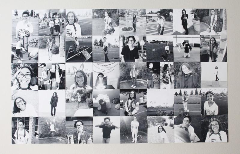 Graduation Party Wall...Just Make Stuff Blog