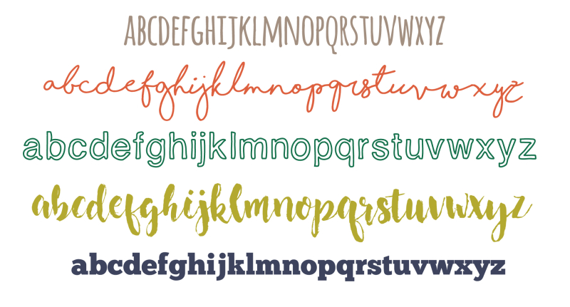 Five favorite fonts copy