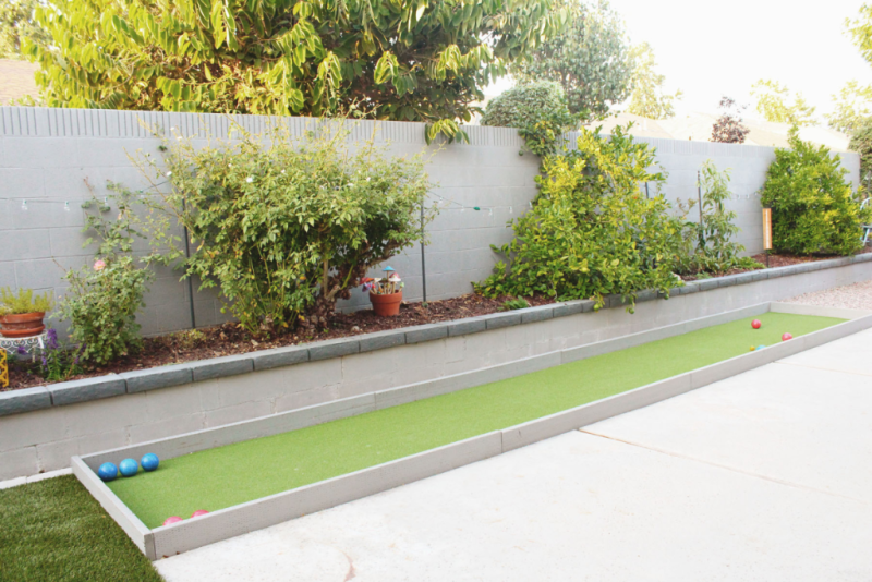 Backyard Bocce Court...Just Make Stuff Blog