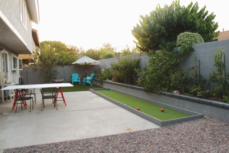 Backyard Bocce Ball just make stuff: backyard bocce court