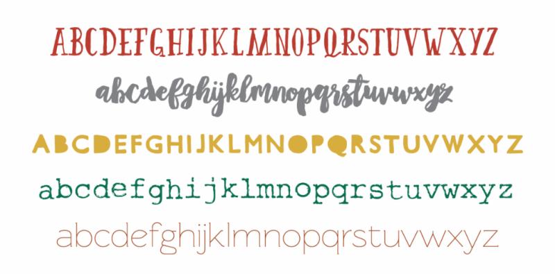 Five Favorite Fonts...Just Make Stuff Blog