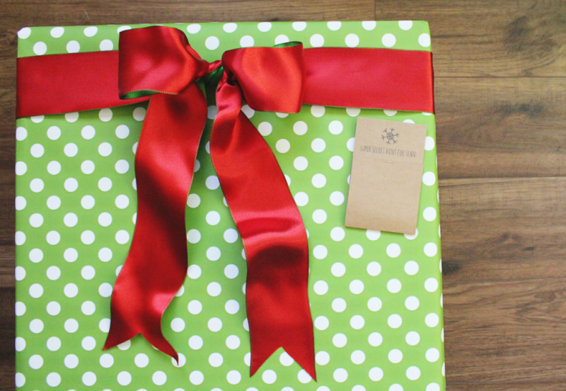 Christmas Secret Gift Tags...Just Make Stuff Blog