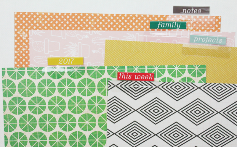 Planner Page Dividers...Just Make Stuff Blog