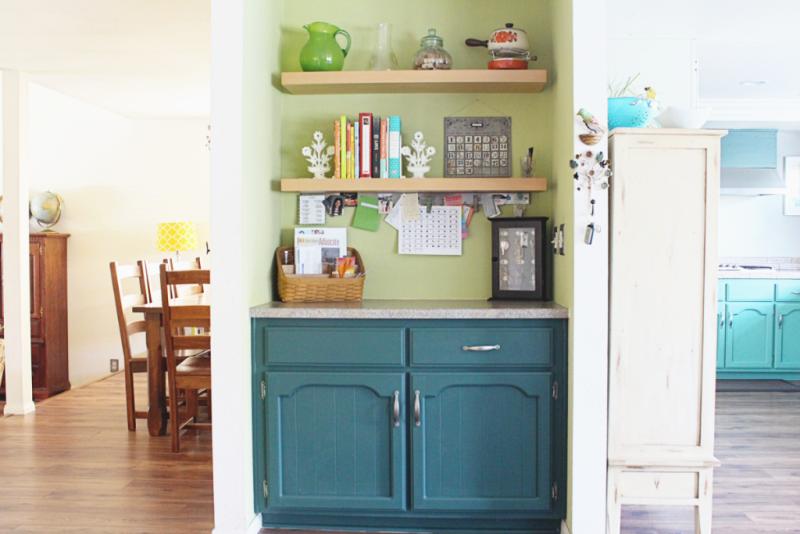 Shelves Before...Just Make Stuff Blog