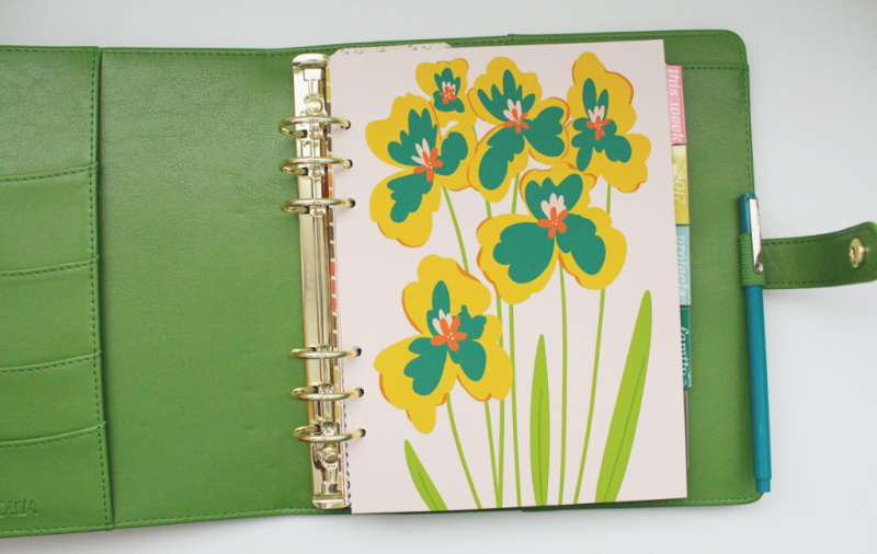Spring Planner Cover...Just Make Stuff Blog