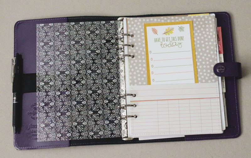 Purple Planner...Just Make Stuff Blog