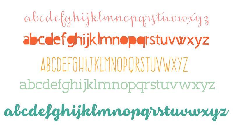 Five favorite fonts copy