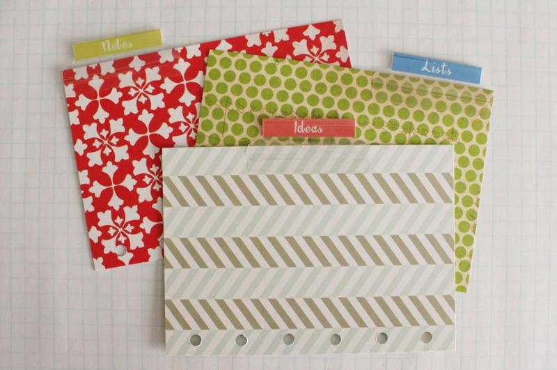 Pocket Filofax...Just Make Stuff Blog