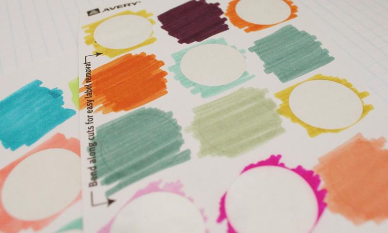 Colorful Removable Planner Labels...Just Make Stuff Blog
