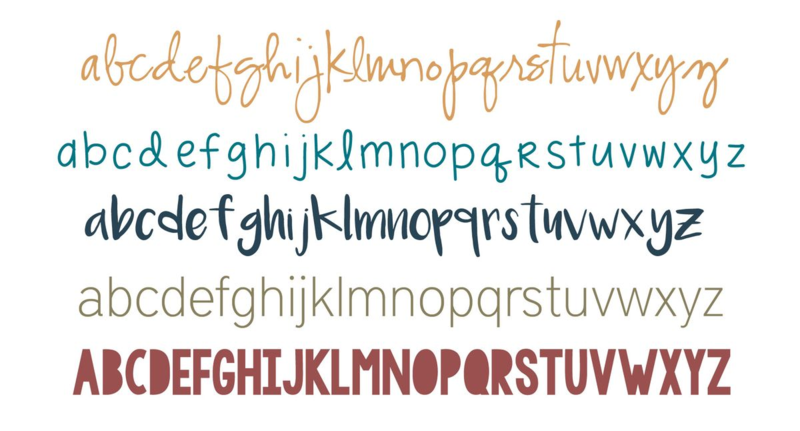Five Favorite Fonts...Just Make Stuff Blog