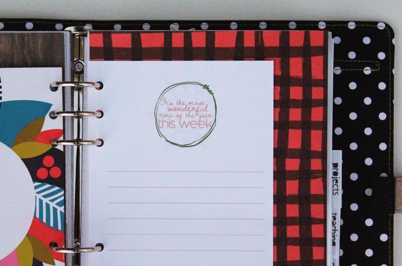 Christmas Planner Page...Just Make Stuff Blog