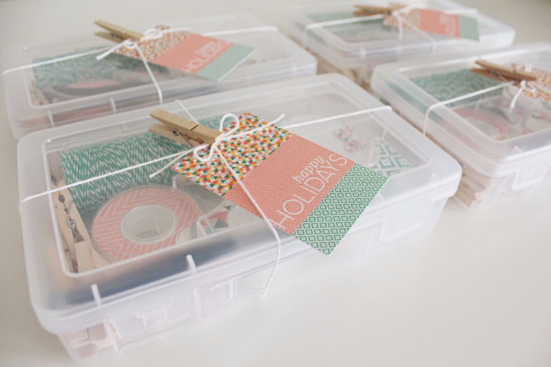 Holiday Gift Wrapping Kits...Just Make Stuff Blog