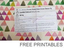 Free printables copy