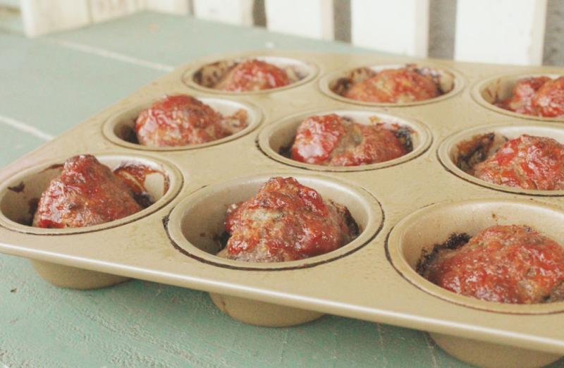 Meatloaf Muffins...Just Make Stuff Blog