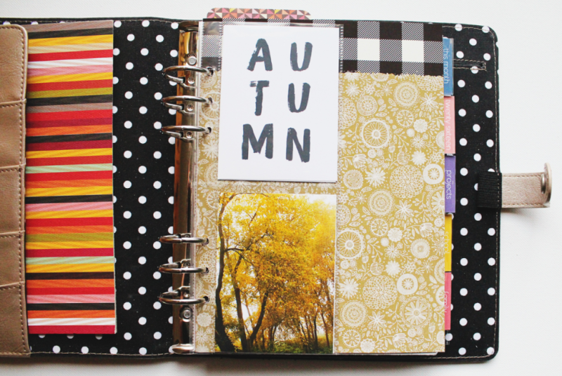 Fall Planner Cover...Just Make Stuff Blog