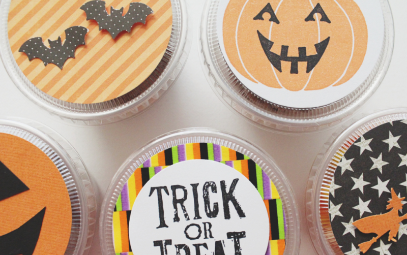 Halloween Snack Cups...Just Make Stuff Blog