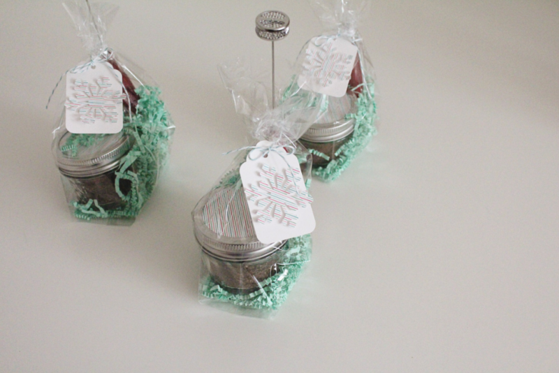 Holiday Hot Chocolate Hostess Gift...Just Make Stuff Blog