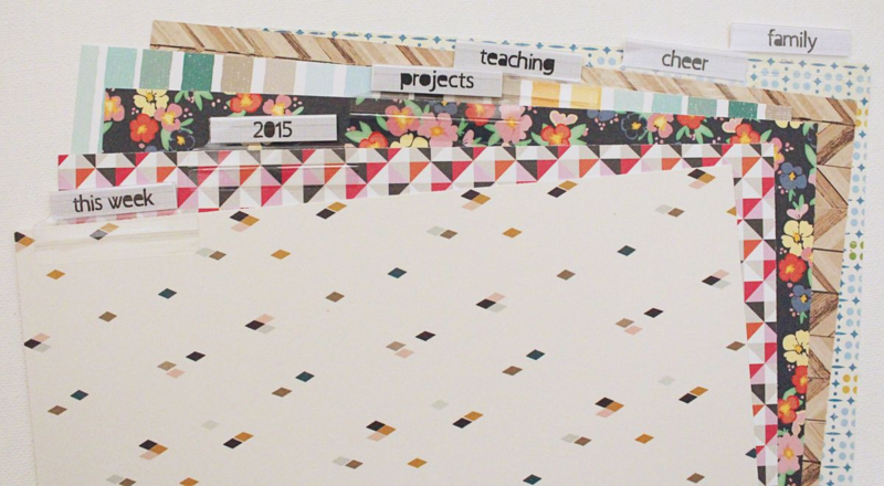 DIY Planner Dividers...Just Make Stuff Blog