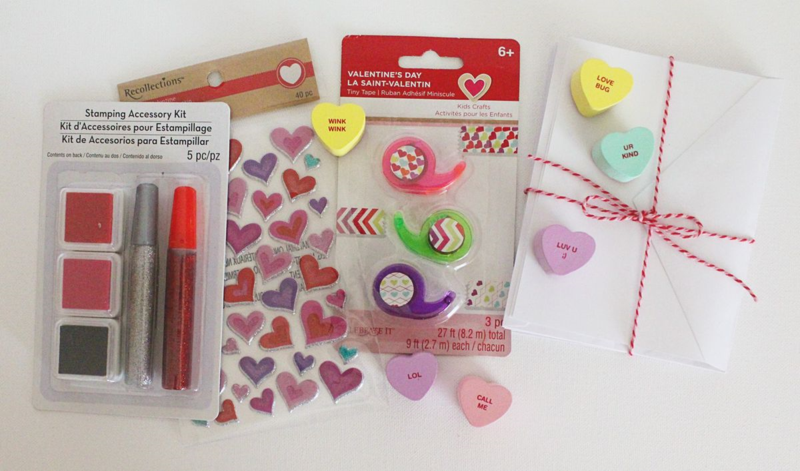 Valentine Crafting Kit...Just Make Stuff Blog