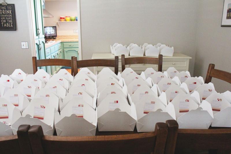 Picnic Dinner Boxes...Just Make Stuff Blog