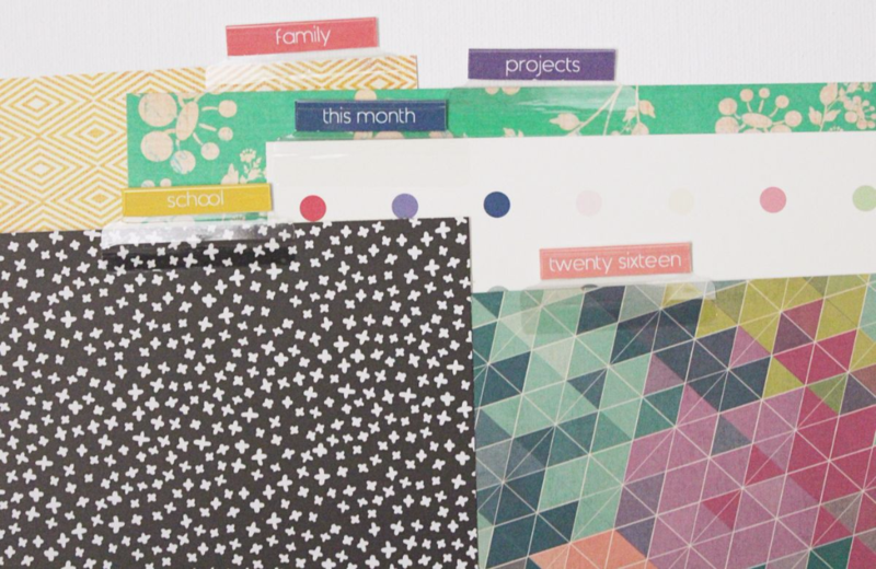 Planner Divider Tab Free Printable...Just Make Stuff Blog