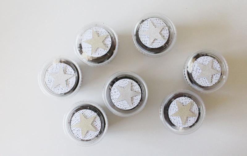 Decorated Dessert Cups...Just Make Stuff Blog