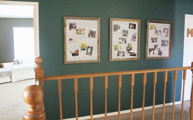 Fabric Covered Magnetic Frames...Just Make Stuff Blog