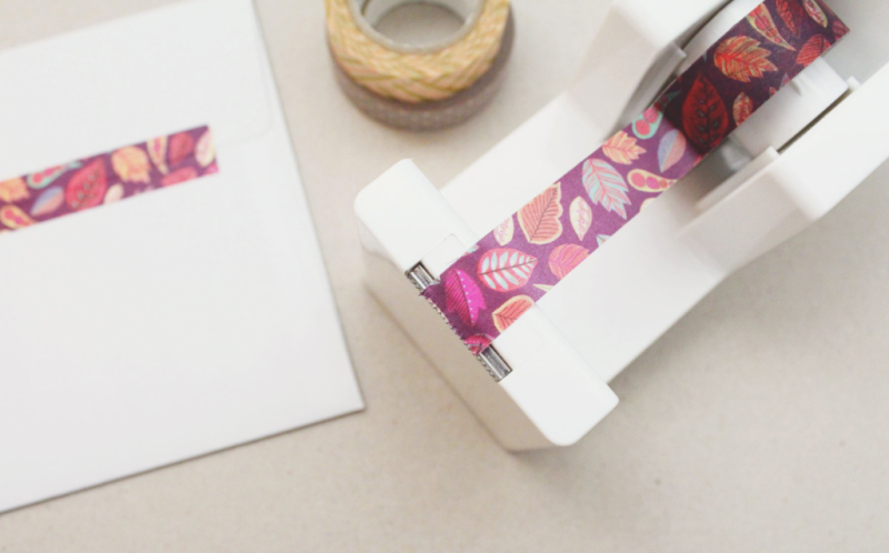 Washi Tape Trick...Just Make Stuff Blog
