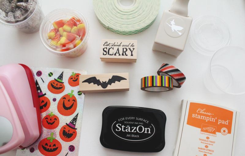 Halloween Snack Cups...Just Make Stuff Blog